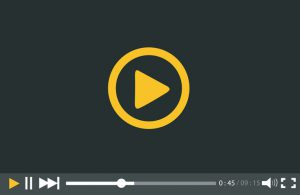 Video Player for web and mobile apps vector illustration